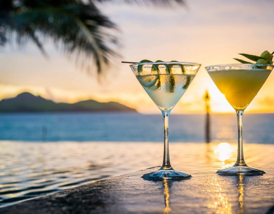 Romantic Sunset Cocktail